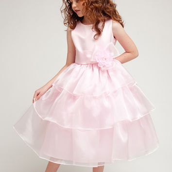 Ryanne Lee- Flower Girl Dress in Pink