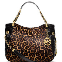MICHAEL Michael Kors  Medium Susannah Calf-Hair Tote