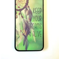 For iPhone 5 Case - ThinShell Protective Case for iPhone 5 Case Keep Your Dreams Alive