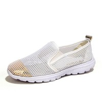 Mesh Soft Breathable Slip On Flat Casual Lazy Shoes
