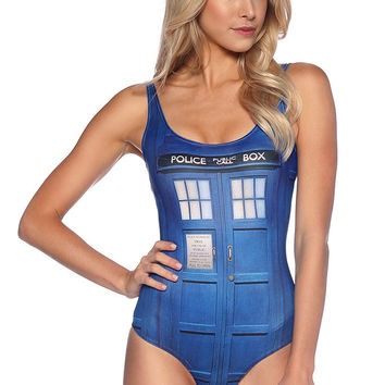 Tardis Swimsuit