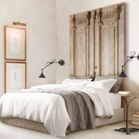 Carved Door Headboard | | Restoration Hardware