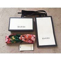 GUCCI Blooms Women Fashion Casual Print Silk Headband