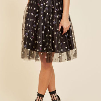 Celestial Celebration Skirt | Mod Retro Vintage Skirts | ModCloth.com