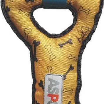 ASPCA Ruff & Tuff Double Tug Dog Toy-Yellow