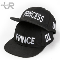 Hot Sale PRINCE PRICESS Embroidery Snapback Hat Acrylic Boys Girls Baseball Cap Children Gifts Kids Hip-hop Sport Caps