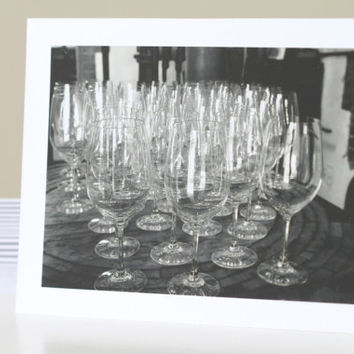 Classy Bachelorette Party Invitation Cards, Bachelorette Engagement Party Invites, Contemporary Photography of Wine Glasses Invites
