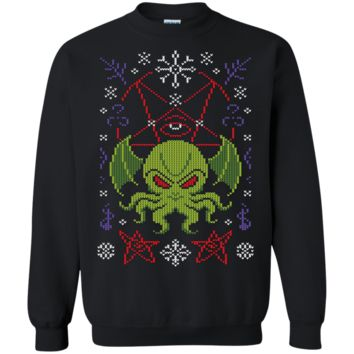 Hail Cthulhu Ugly Sweater Perfect Christas Gifts