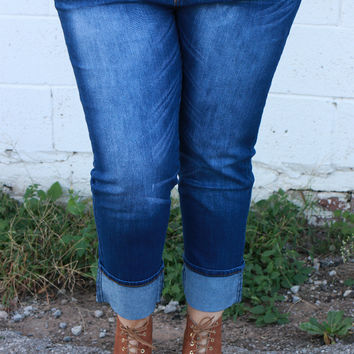 The Malena Relaxed Fit Boyfriend Jeans ~ Denim ~ Sizes 14-24