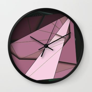 Shape Abstract Wall Clock by Ducky B