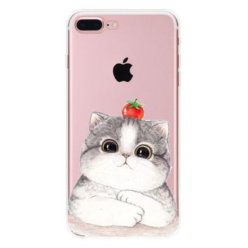 this is not an apple cat case for iphone 7 7plus iphone se 5s 6 6 plus high quality cover gift box 90  number 1