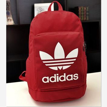 ADIDAS Fashion Hot Women Men Backpack Red