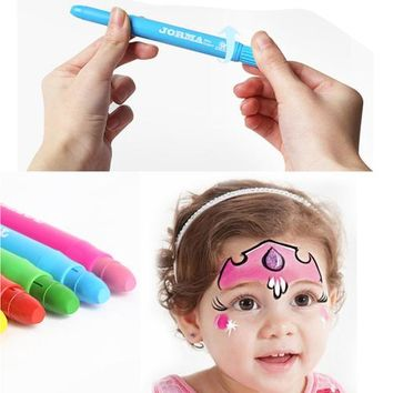 Crayon toy 6 Colors Kids Washable Crayons Play