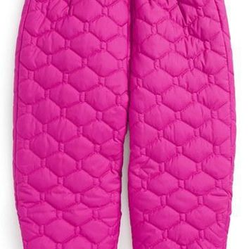 The North Face Infant Girl's 'Perrito' Reversible Water Repellent Snow Pants,