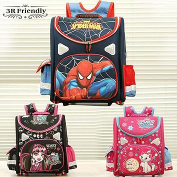 Hot 21model Choose Kids Backpack Butterfly Monster High Orthopedic School Bag Eva Schoolbag Children School Bags For Boy Andgirl