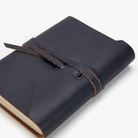 BROWN LEATHER NOTEBOOK - DIARIES AND NOTEBOOKS - DECORATION | Zara Home Australia