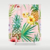 Hawaii Shower Curtain by 83oranges.com