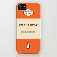On the Road by Jack Kerouac iPhone & iPod Case by Niclas Boman