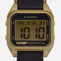 Electric Ed01 Watch Gold/Black One Size For Men 27158277401