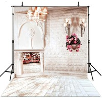 Floral Wedding Photography Backdrops Vinyl Backdrop For Photography White Wedding Background For Photo Studio Foto Achtergrond