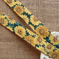 Lanyard Badge ID - Classic Sunflowers