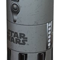 Zak! Designs Tritan Plastic Blue Light Saber Water Bottle with Screw-on Lid, BPA-free and Break Resistant, Inspired by Anakin Skywalker's Light Saber from Star Wars, 21.5oz