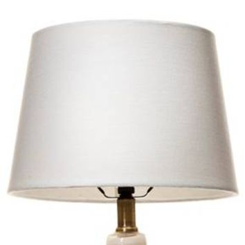 Linen Lamp Shade True White Small - Threshold™
