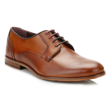 Ted Baker Mens Tans IRONT Leather Shoes
