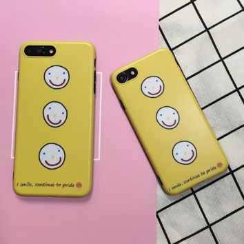 Creative smell face printed plastic Case Cover for Apple iPhone 7 7Plus 6 Plus 6 -05011