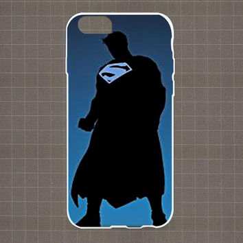 DC Marvel Heroes Silhouette 04 iPhone 4/4S, 5/5S, 5C Series Hard Plastic Case