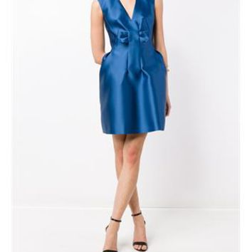 LANVIN   Sleeveless Satin Dress   brownsfashion.com   The Finest Edit of Luxury Fashion   Clothes, Shoes, Bags and Accessories for Men & Women