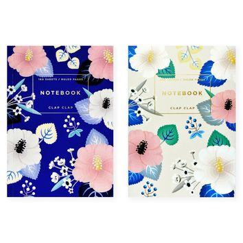 Hibiscus Notebook in two color options