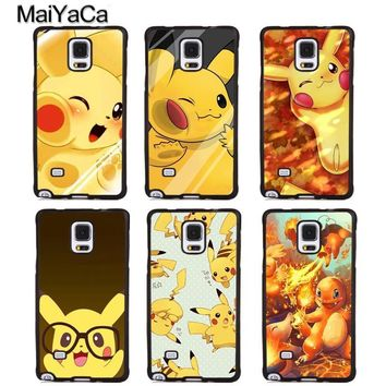 MaiYaCa s Charmander squirtle Soft Rubber Phone Cases For Samsung Galaxy S5 S6 S7 edge plus S8 S9 plus Note 4 5 8 CoverKawaii Pokemon go  AT_89_9