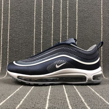 Best Online Sale Nike Air Max 97 UL '17 Dark Blue Bullet Sport Running Shoes  918356-400