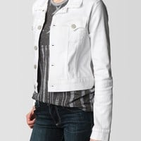 TINA CROPPED WESTERN WOMENS DENIM JACKET