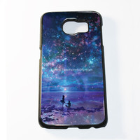 Ocean, Stars, Sky, And You Samsung Galaxy S6 and S6 Edge Case