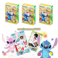 For Fuji Instax Mini 7S 25 50S Disney Lilo & Stitch Film 30PCS Photo