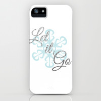 Let it Go - Frozen iPhone & iPod Case by Lauren Ward
