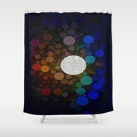 :: Step Into The Light  :: Shower Curtain by :: GaleStorm Artworks ::