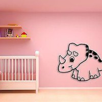 Wall Sticker For Kids Baby Dinosaur Cool Decor for Nursery Room Unique Gift z1404