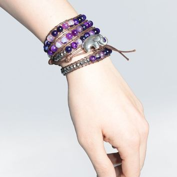 Bada Bracelet Purple