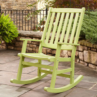 Home Styles Furniture 5660-585 Bali Hai Limeade Finish Outdoor Rocking Chair