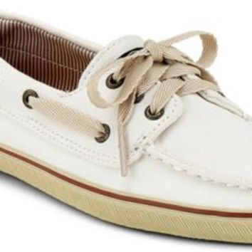Sperry Top-Sider Cloud Logo Cruiser Sneaker WhiteCanvas, Size 11M  Women's Shoes