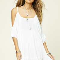 Boho Me Open-Shoulder Tunic