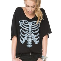 Brandy ♥ Melville |  Angie Skeleton Top - Clothing