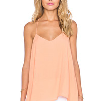 Pink Stitch Nira Cami in Peach