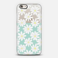 Bright Daisies on Mint & Transparent iPhone 5s case by Micklyn Le Feuvre | Casetify