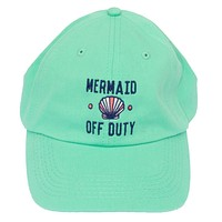 Mermaid Off Duty Cap in Mint by Jadelynn Brooke - FINAL SALE