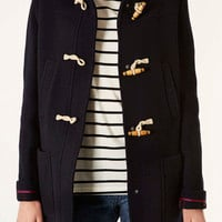 Wool Hooded Duffle Coat - Jackets & Coats - Clothing - Topshop USA