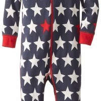 Hatley   Baby Boys' Sleepy Romper   Bright Stars, Blue, 18 24 Months